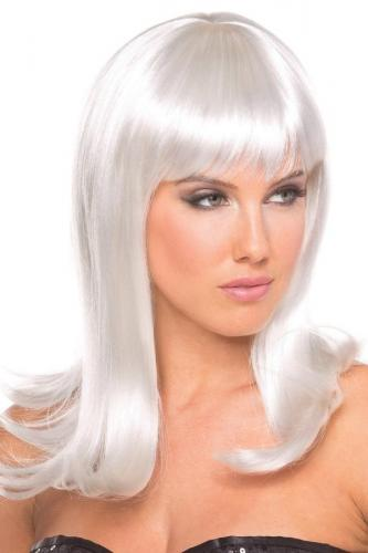 Hollywood Wig - White-Be Wicked Wigs