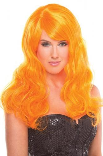 Burlesque Wig - Orange-Be Wicked Wigs