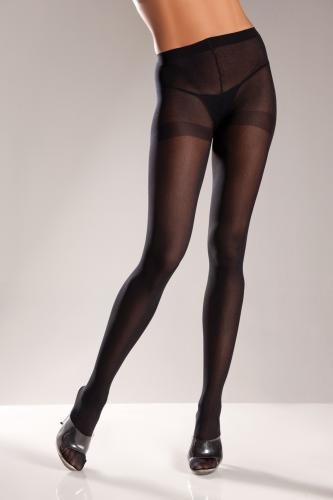 Opaque Stockings - Black-Be Wicked