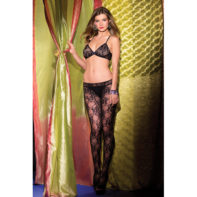 Crotchless Bodystocking With Cut Out Front-Be Wicked
