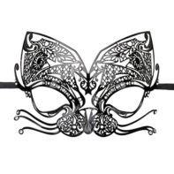 Metal Mask Black-Easytoys Fetish Collection
