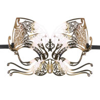 Metal Mask Gold-Easytoys Fetish Collection