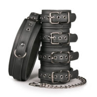 Fetish set with collar
