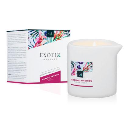 Exotiq Massage Candle Bamboo Orchids - 200g-Exotiq
