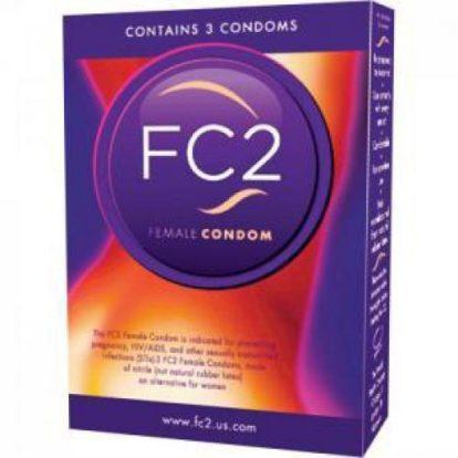 FC2 Female Condoms - 3 pcs.-Asha International