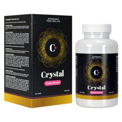 Crystal - Testo Power Testosteron Enhancing Tablets - 60 pcs-Morningstar