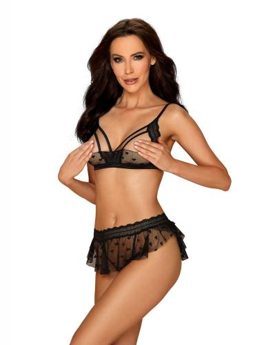 Heartia 3-Piece Set With Open Cups-Obsessive