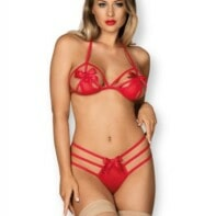 Giftella 2-Piece Set - Red-Obsessive