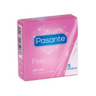 Pasante Feel condoms 3 pcs-Pasante