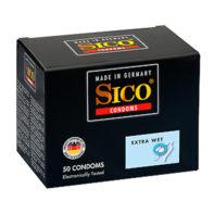 Sico Extra Wet - 50 Condoms-Sico