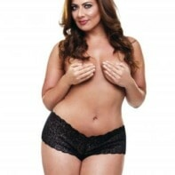 Lace Panties with Bullet Vibrator and Remote Control - Black-Secrets Vibrating Panties