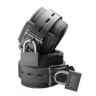 Tom of Finland Neoprene Wrist cuffs w/ locks-Tom of Finland