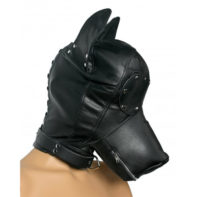 Ultimate Leather Dog Hood-Strict Leather