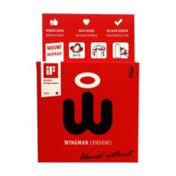 Wingman Condoms 3 Pieces-Wingman Condooms