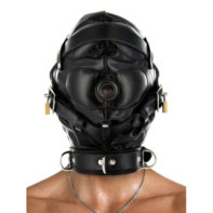 Strict Leather Sensory Deprivation Hood-Strict Leather